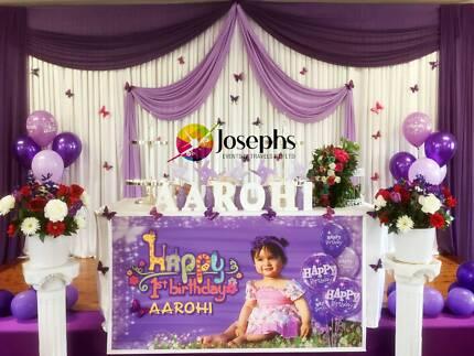 Wedding Backdrop, Birthday Decoration, Engagement Party Hire
