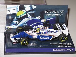 Williams-FW16-Renault-Pacific-Gp-1994-A-Senna-F1-1-43-minichamps-No-Spark