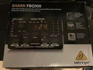 Behringer FBQ100 feedback destroyer comme neuf like new