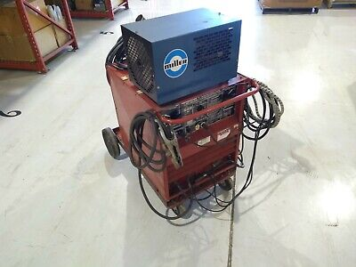 Lincoln Tig-250250 Idealarc Welder 8329-c With Miller Radiator-1 Cooling System
