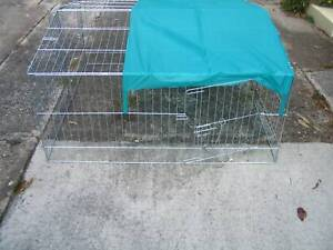 NEW XL BUDGET PET EXCERCISE ENCLOSURE RUN - WITH COVER-2 for $60