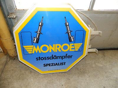Monroe Stossdämpfer Werkstatt Werbung Reklame Schild  Leuchtreklame Rob Otten