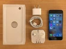 iPhone 6 (Black/Silver, 128Gb) with headphones & charger Balga Stirling Area Preview