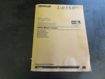 Caterpillar Cat 950g Wheel Loader Parts Manual Sebp2700-27 3jw