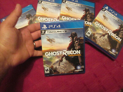 Tom Clancys Ghost Recon  Wildlands Ps4 Sony Brand New Factory Sealed