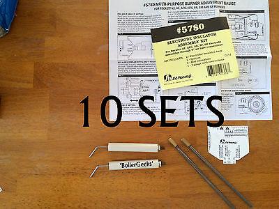 10 Pack 5780 Beckett Burner Electrodes Lot For Afg Af Ar Sf Sr Oil Burners