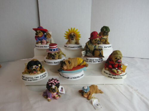Westland Giftware Zelda Wisdom Bulldog Figurines