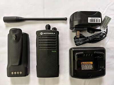 Motorola RDU4100 UHF two-way radio Refurbished. 4 watts - 10 channels.. Buy it now for 179.0
