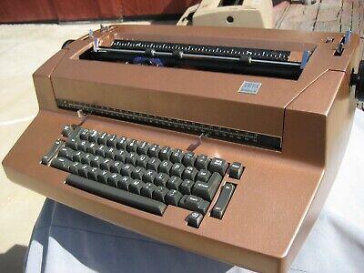 Custom Re-paint Bronze Refurbished Ibm Selectric Ii Typewriter Self Correction