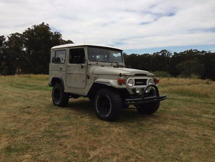 1977 Toyota Landcruiser 40 Series Trentham Hepburn Area Preview