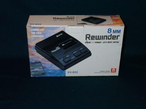Kinyo KV-822 8mm Tape Rewinder, FF/RW, Auto Break Control, New in Box