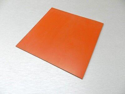 Silicon Rubber Sheet High Temp Solid Redorange Commercial Grade 12 X 12 X18