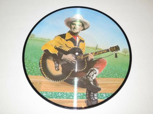 Vintage Gene Autry Picture Disc 33 LP Record Album With Quality CD Recording