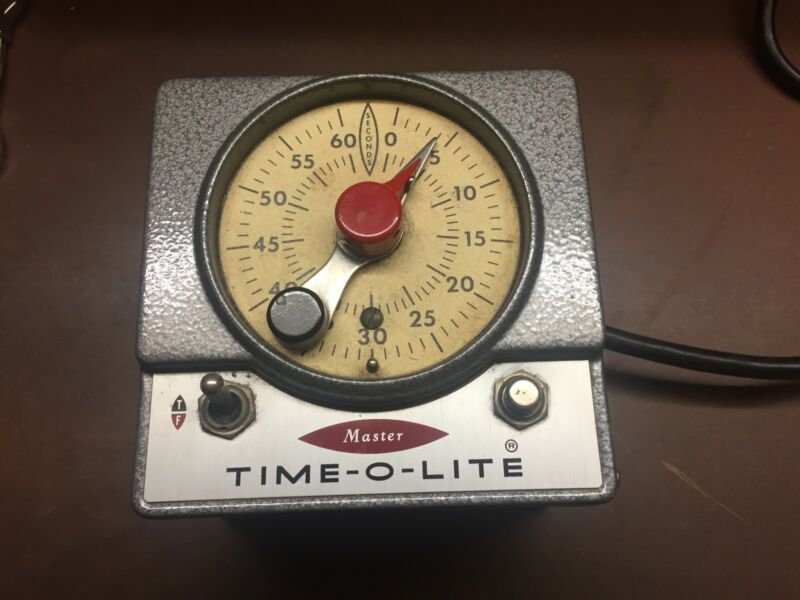 Master Time-o-lite M-59 good condition