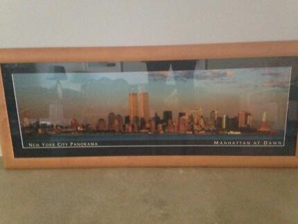 Twin Towers New York framed art Ellenbrook Swan Area Preview