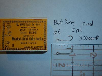 MUSTAD FLY TYING STREAMER-SIZE 4-1980D--ABERDEEN-FINE WIRE-200 CT-FREE SHIPPING