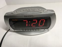 Emerson Research CKS2235S Smart Set Dual Alarm Clock Radio With Touchless Wave