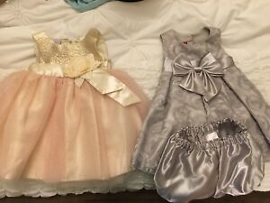 Baby girl dresses size 12-18mo