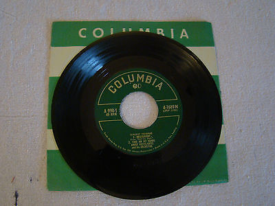 Vtg 4 Song 45 Rpm Record Vincent Youmans  Hallelujah  Time On My Hands 31725