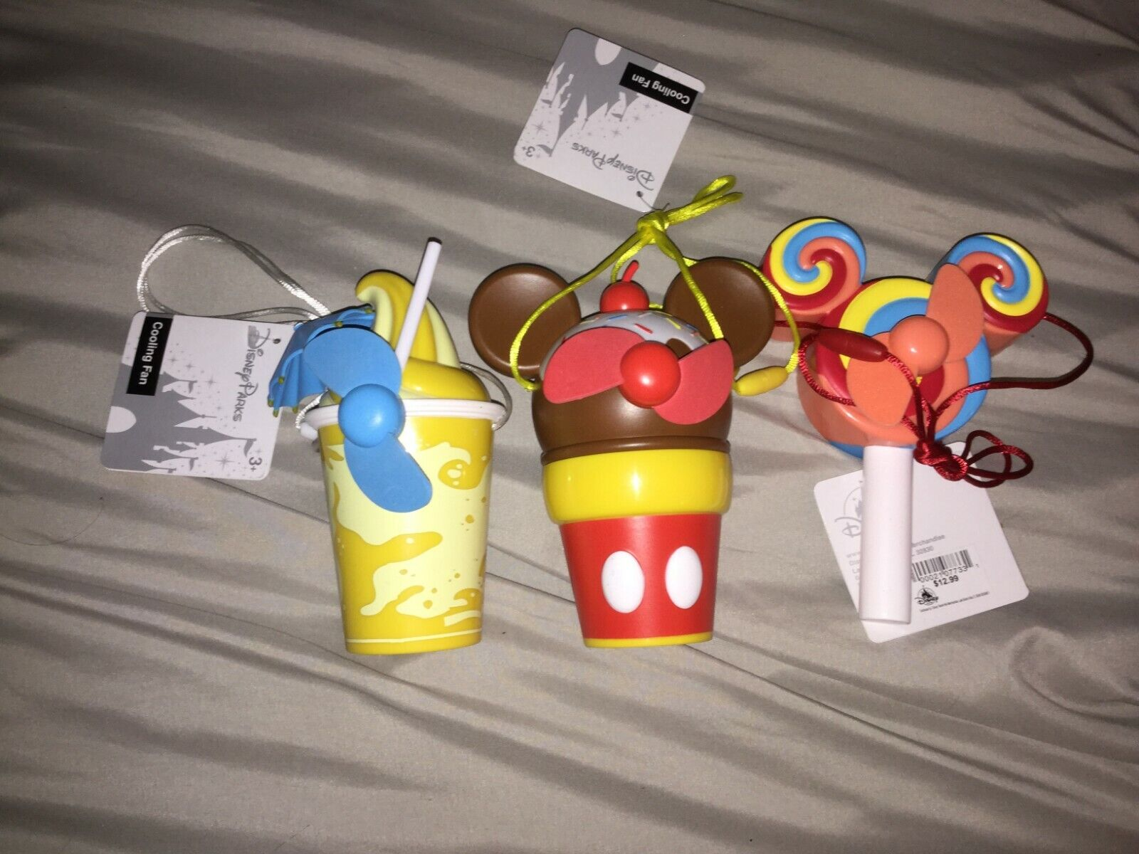 3 Disney Parks Snacks And Treats Mickey Lollipop, Sundae Dol