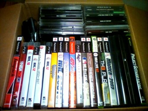 Wholesale Lot 50+ Mixed Video Games Lot D