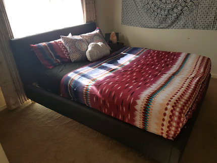 Queen Size Bed Frame Near New Condition $250