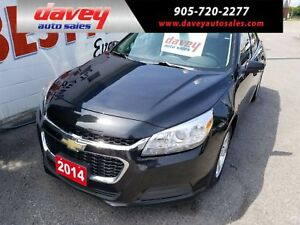 2014 Chevrolet Malibu 1LT BLUETOOTH, ALLOY WHEELS, MP3 INPUT
