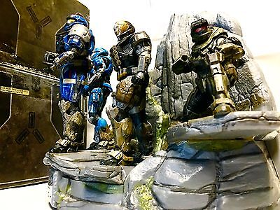 Halo Reach Legendary Edition Xbox 360 GOODIES •Master Box, NOBLE Statue, Drawer• for sale  Shipping to South Africa
