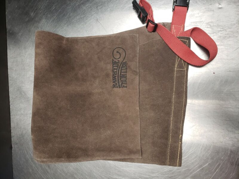 RAWHYDE FRONTIER RN 79683 LEATHER WELDING WAIST APRON NEW
