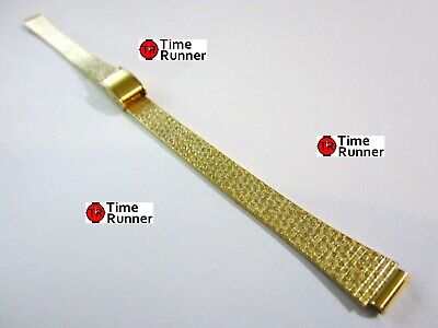 Citizen Gold Tone Women's Replacement Mesh Watch Band Bracelet