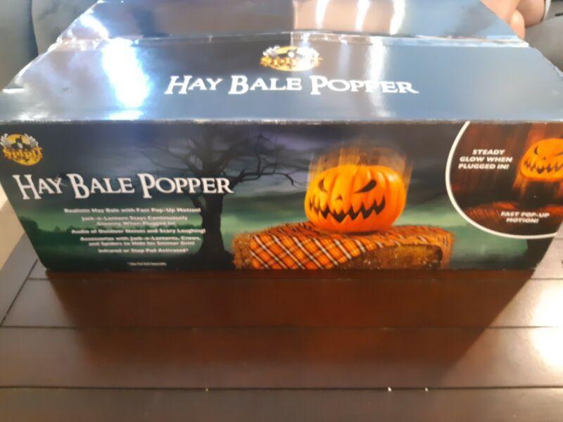 Spirit Halloween hay bale popper