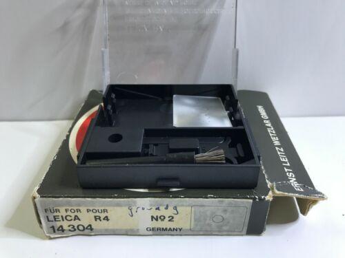 Leica R4 Focusing  screen #14305 No2, in original Leica box