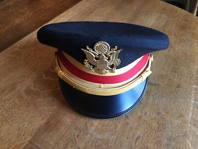 Art Caps Military Headwear Eagle Army Air Artillery Red Band Cap Hat 7 ⅜