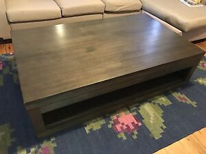 Large coffee table with drawer from Harvey Norman Summer Hill Ashfield Area Preview