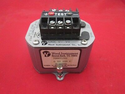 Weed Instrument 7000t1u Temperature Transmitter