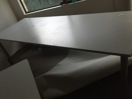 huge long work bench desk table and office chair