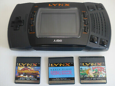 Atari Lynx II Console + 3 Games - UK