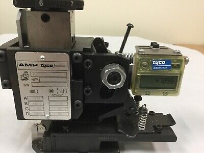 Amp Tyco Applicator 687940-2 For Crimping 42281-2 60634-1 Series Terminals