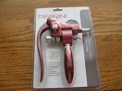 NEW Pedrini Wine and Bar Lever-Action Corkscrew ()