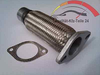 Flexrohr Hosenrohr Flansch Katalysator passend für Ford KA 1.3i 50 Ps 60 Ps