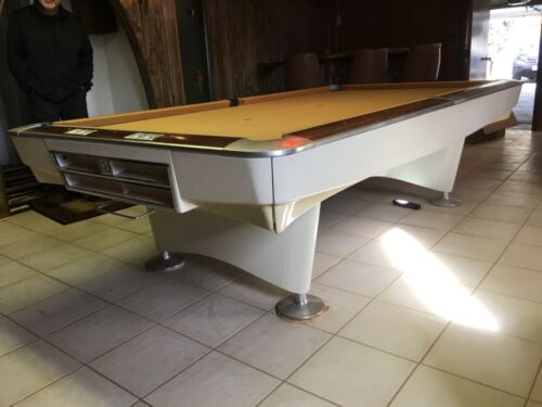 Brunswick 9 ft Gold Crown 1 pool table, Restored,Delivery Local Setup Level.