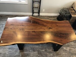 Wooden dining room table set