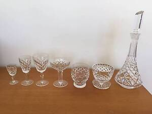 Bohemia Hand Cut Lead Crystal Glasses – 57 Pieces Available Glenelg East Holdfast Bay Preview