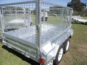 9 x 5 Heavy Duty 2.0  ton with 600 high Cage and new spare wheel Wauchope Port Macquarie City Preview