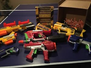 NERF Guns & Mega Bullets!!!!