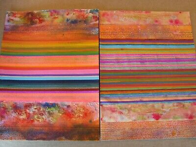 Mixed Media 'Collage' SET (#656-657)