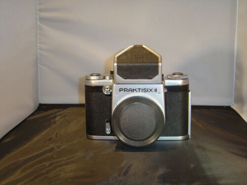 Praktisix II (2) with Prism and Body Cap - works