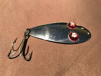 RARE OLD COLLECTABLE VINTAGE FISHING LURE TACKLE PAUL BUNYAN FLASH EYE SPOON