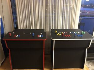 Arcade pedestals 30,000 games installed