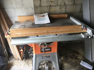 Table saw and dust collector for sale